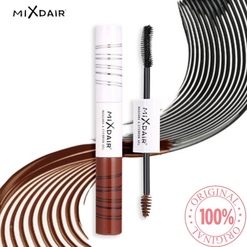 COD ORI MIXDAIR Mascara Eyebrow Two-in-One Silky Eye Makeup Double Effect Combination Eyebrow Cream