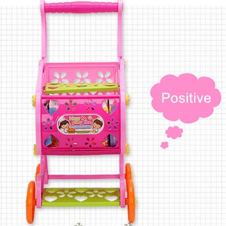 ★peaire★ Children's shopping cart toy simulation shopping mall shopping puzzle