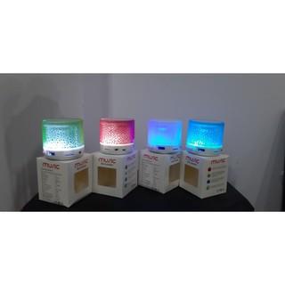 [Mã ELORDER5 giảm 10K đơn 20K] Loa Bluetooth HDL-600 CÓ ĐÈN LED