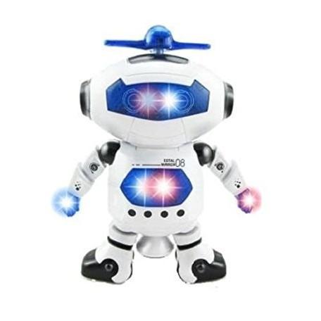 Đồ chơi robot thông minh nhảy múa,quay 360 độ
