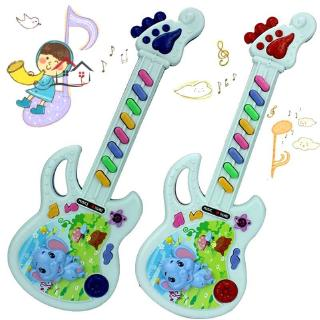 HYP Musical Educational Toy Baby Kids Children Portable Guitar Keyboard Developmental Cute Toy @VN
