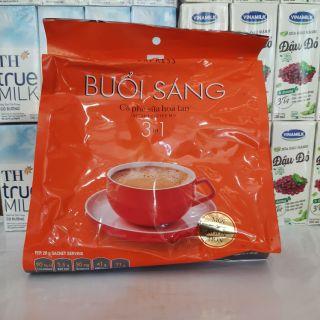 Cà phê sữa TRẦN QUANG BUỔI SÁNG GOODMORNING 24 gói nhỏ