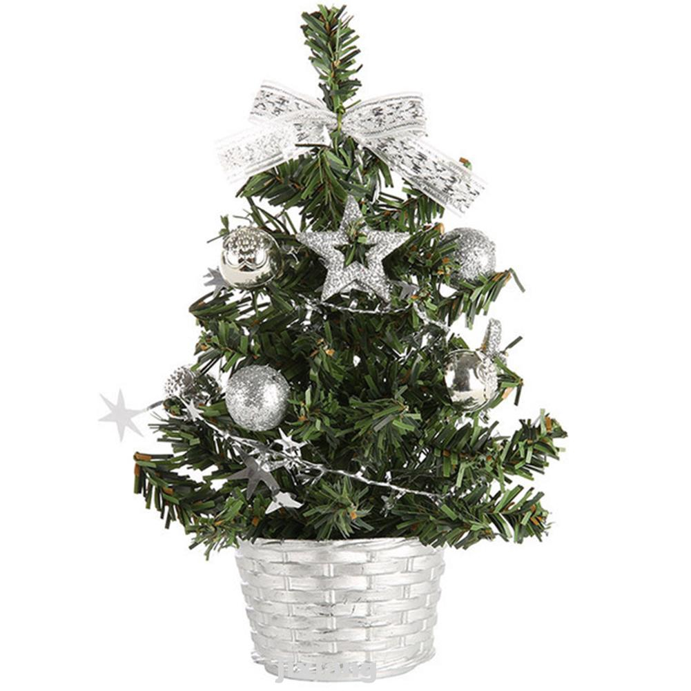 Christmas Tree Artificial Desk Decoration Bedroom Pine DIY Home Table Party Gift