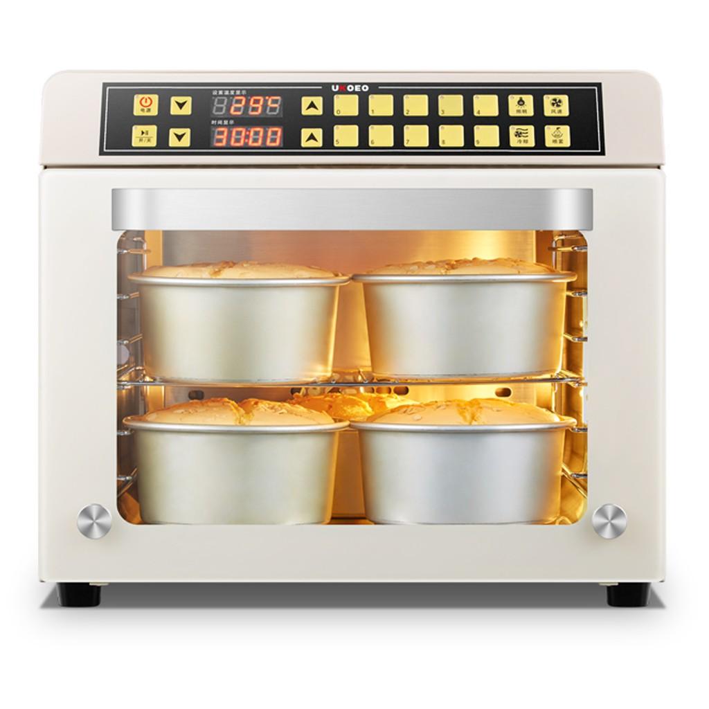 Lò nướng đối lưu Ukoeo T38 công suất 1800W đa năng dùng ủ sữa chua, làm bánh, sấy hoa quả