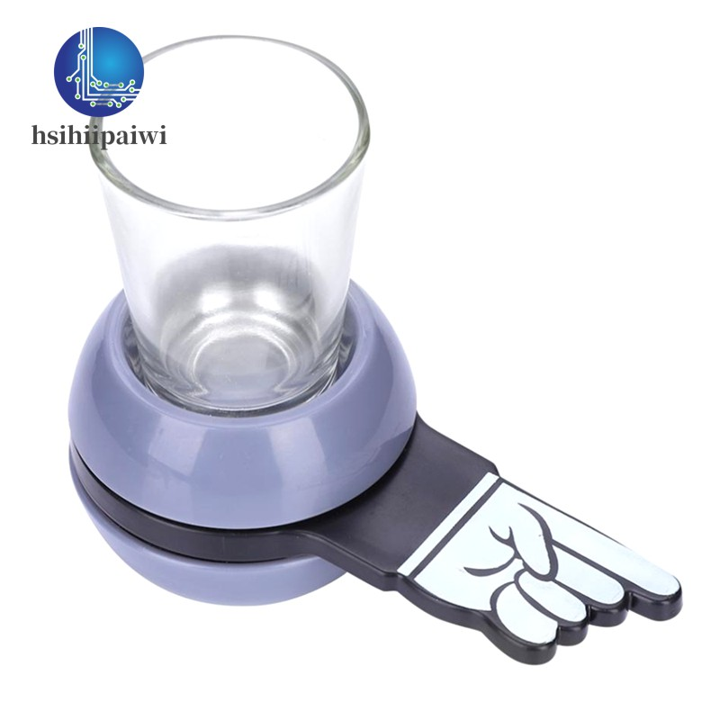 Game Rotatable Glass Cup Kit Spin the Shot Entertainment Supplies