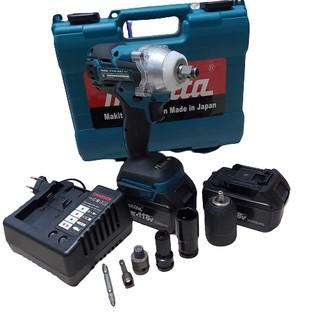 Máy tháo mở bu lông – máy bắn vít pin MKT -118V-5.0 AH tặng trọn bộ đầy đủ phụ kiện