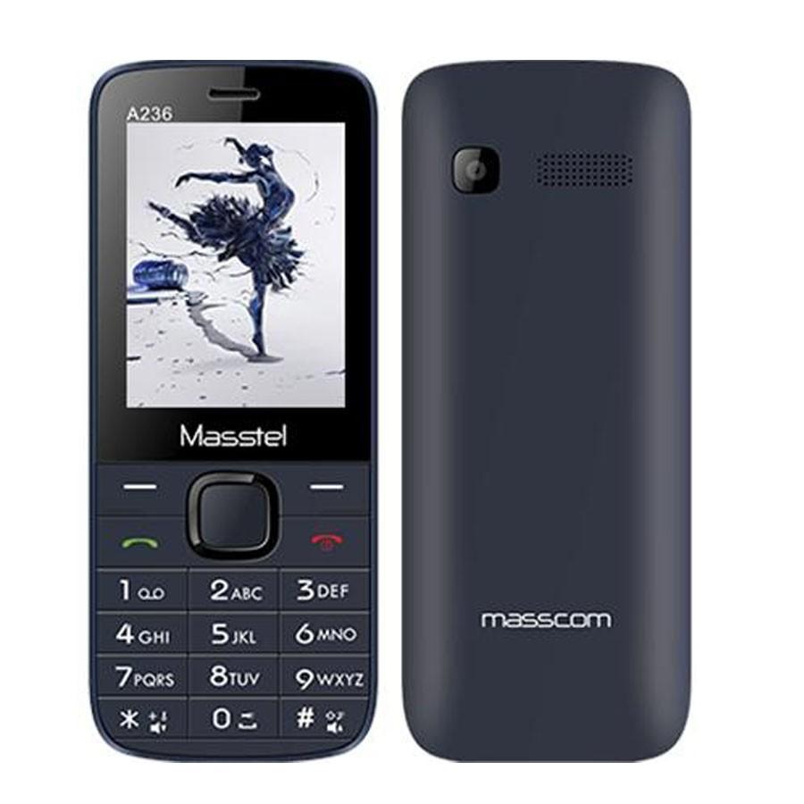 ĐTDĐ Masstel A236 2 Sim (Xanh)