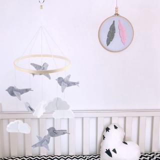 ohmg* Crib Mobile Rattle Toy Baby Wind Chime Pendant Bed Bell Hanging Ornament