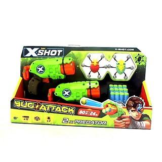 Mô hình sưu tầm Chiến binh diệt bọ X-shot (2 bọ & 12 phi tiêu)