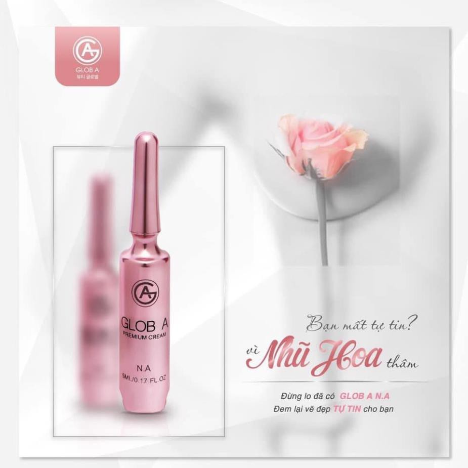 Kem làm hồng nhũ hoa Glob A Premium Cream NA
