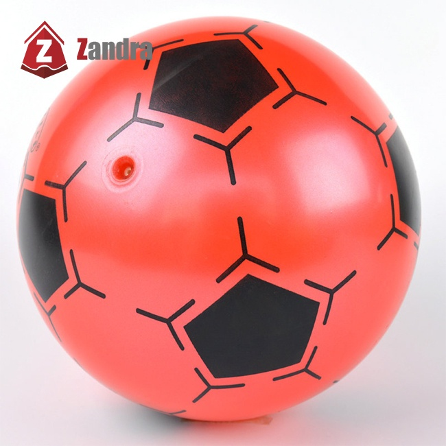 ZD 9 Inch Children Inflatable PVC Soccer Ball Toy Football Shape Bouncing Ball Gift for Kids Random Color