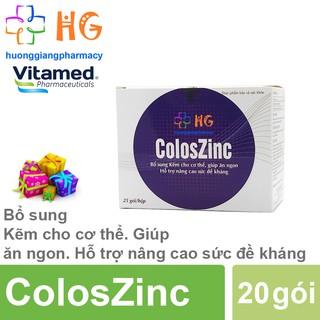 ColosZinc - Bổ sung Kẽm cho cơ thể, giúp ăn ngon. Hỗ trợ tăng đề kháng (Hộp 20 gói) thumbnail