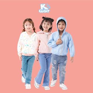 Áo Hoodie /Gió Cho Bé Trai Và Bé Gái (1-9 Tuổi) K's Closet E005TEF / E015TEF / E023TEFTM