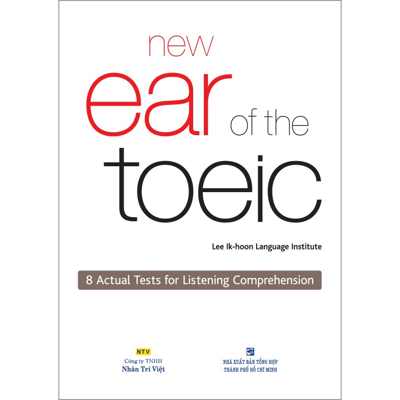 New Ear of the TOEIC (kèm CD) - 3423111 , 976172596 , 322_976172596 , 198000 , New-Ear-of-the-TOEIC-kem-CD-322_976172596 , shopee.vn , New Ear of the TOEIC (kèm CD)