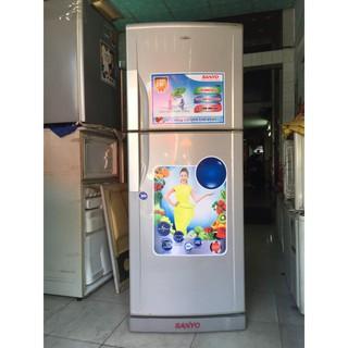 Tủ lạnh Sanyo Aqua 230 lít, tủ không đóng tuyết