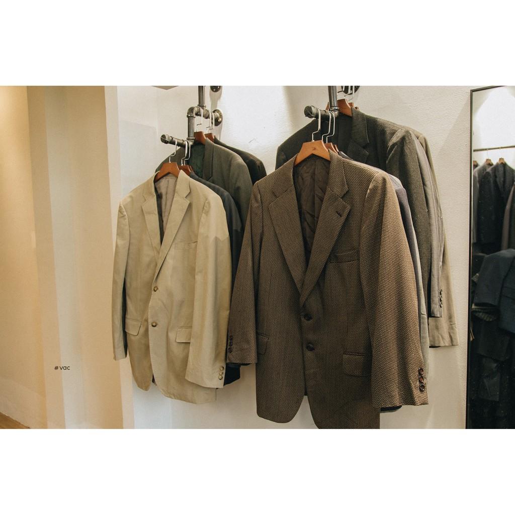 (20 mẫu/size lớn) Áo vest / blazer nam nữ vintage oversize style hàn quốc hàng công sở secondhand