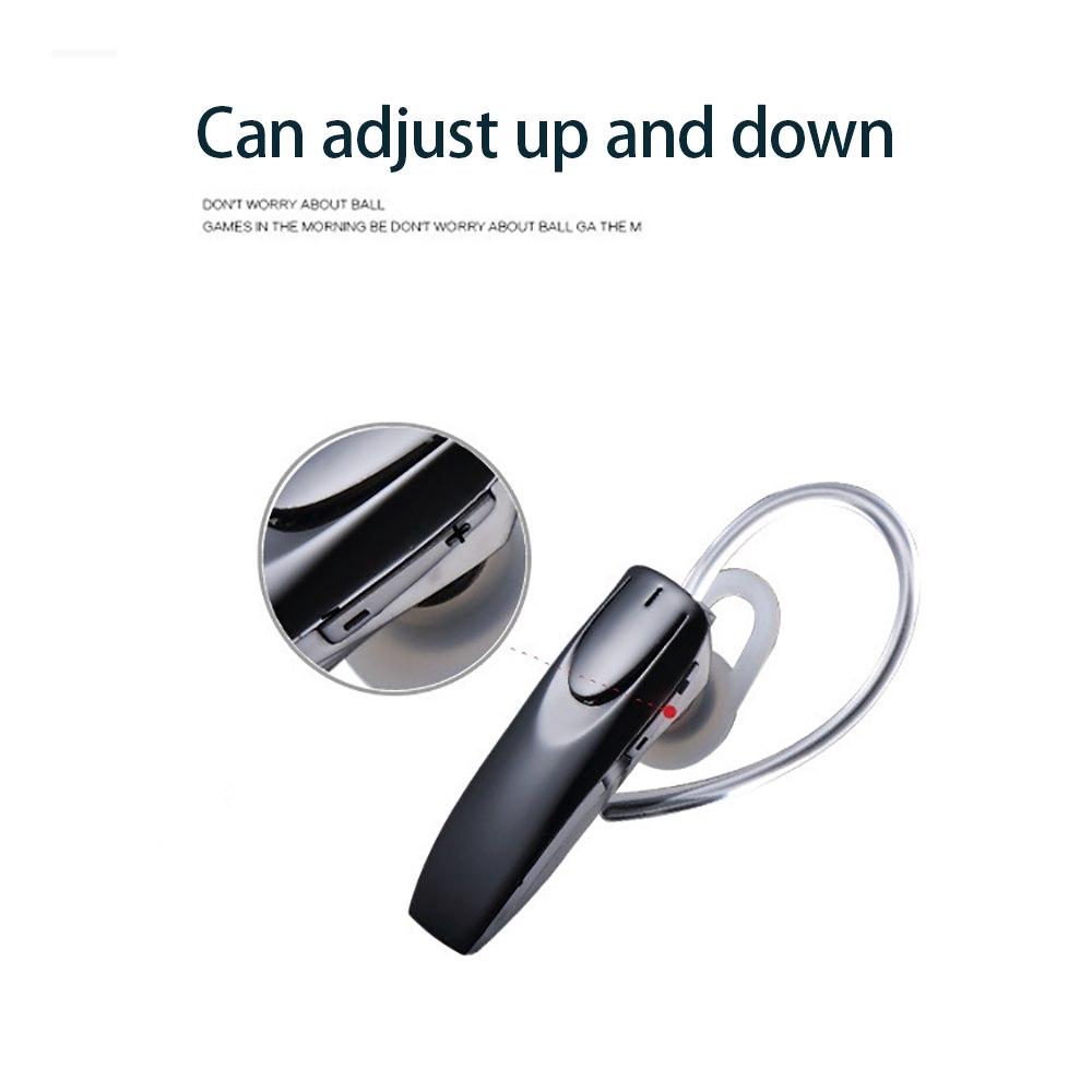 Tai nghe nhét tai không dây kết nối bluetooth có mic kèm cáp sạc USB tiện dụng