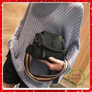 Túi xách nữ giá rẻ cao cấp túi xách nữ Quảng Châu túi xách nữ công sở túi xách nữ hai khóa TXYSL2K