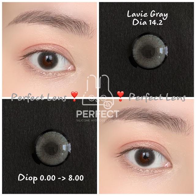 Lens Lavie Gray – Không Độ – (dia 14.2 / Gdia 13.8) Kính Áp Tròng