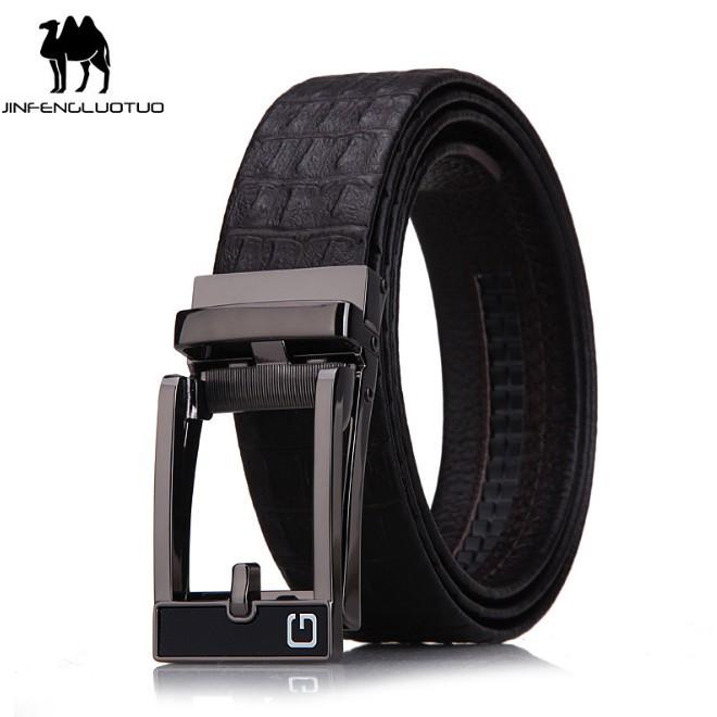 (NEW 2019 Men's Belt) Bảo Hành 1 Năm - Dây Nịt Thắt Lưng Da Bò Thật Cao Cấp AGZ015 - Hàng Nhập Khẩu - Nam Nữ