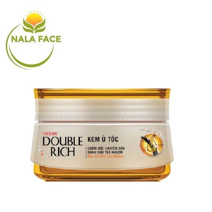 Kem ủ tóc - hấp tóc Double Rich cho tóc khô, xơ, nhuộm 150g