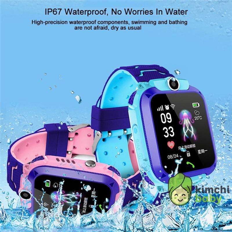 Đồng hồ thông minh chống nước tốt dành cho trẻ em KICHIBA Q12