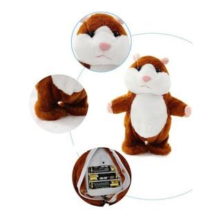 Chuột Hamster biết nói bắt chước theo tiếng của bé