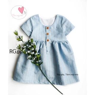 RẬP GIẤY(Bản vẽ) RG7_ rập váy bé gái ( 1-8t)