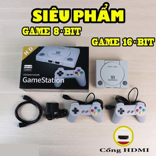 [ KHUYẾN MÃI] - Máy Chơi Game Có Tay Cầm Siêu Đẹp HDMI - Trọn Bộ Đủ 600 Game Khác Nhau thumbnail