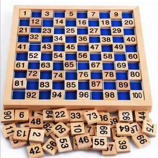 Bộ đồ chơi học đếm số bằng gỗ theo phương pháp Montessori