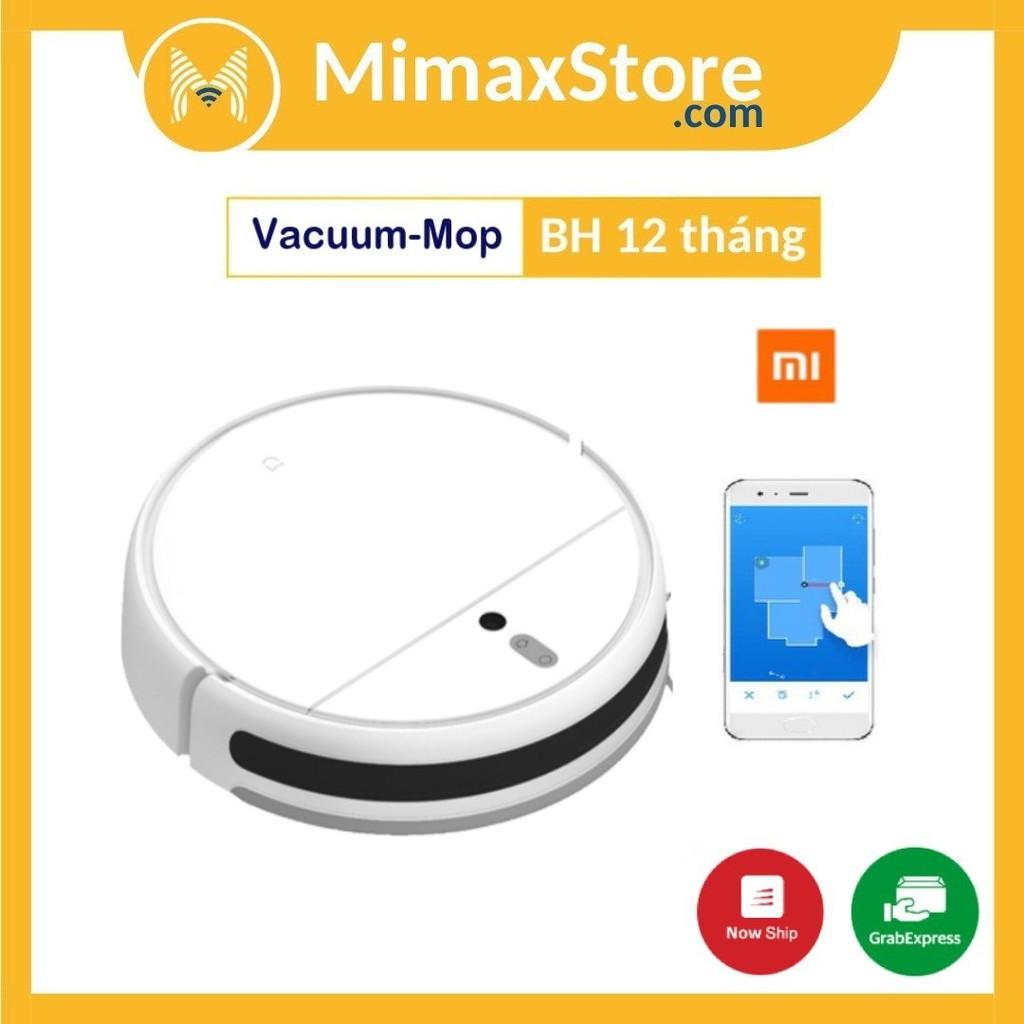 Robot Hút Bụi Xiaomi Mi Robot Vacuum-Mop - Bản Quốc Tế - Hàng Chính Hãng - Phân Phối Bởi DIGIWORLD