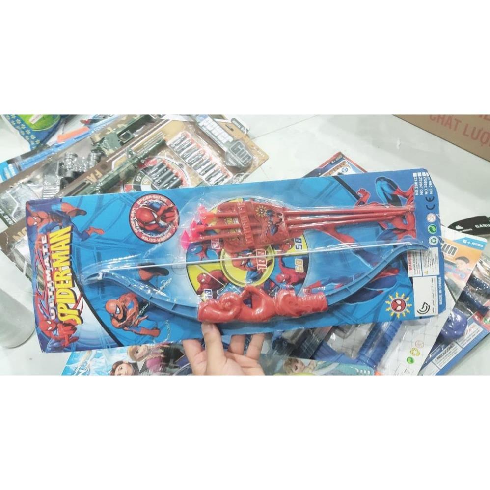 đồ chơi bắn cung nhân vật hoạt hình