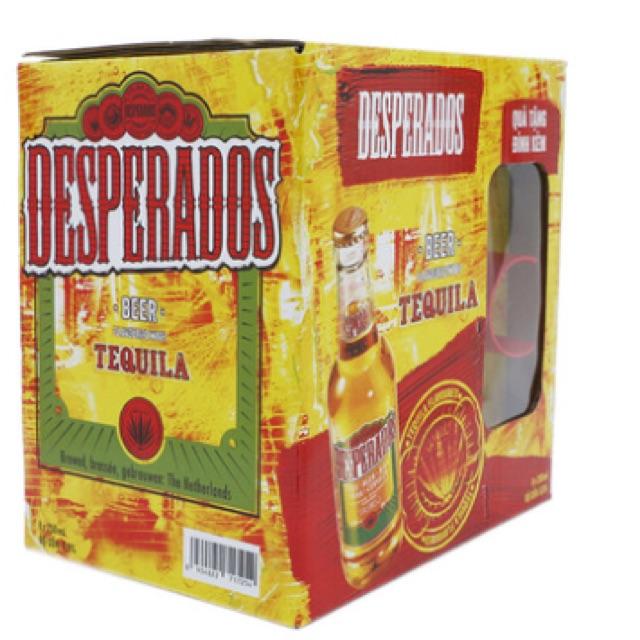 Thùng bia Desperados 8 chai*250ml*quà tặng đính kèm - 2554752 , 983654229 , 322_983654229 , 230000 , Thung-bia-Desperados-8-chai250mlqua-tang-dinh-kem-322_983654229 , shopee.vn , Thùng bia Desperados 8 chai*250ml*quà tặng đính kèm
