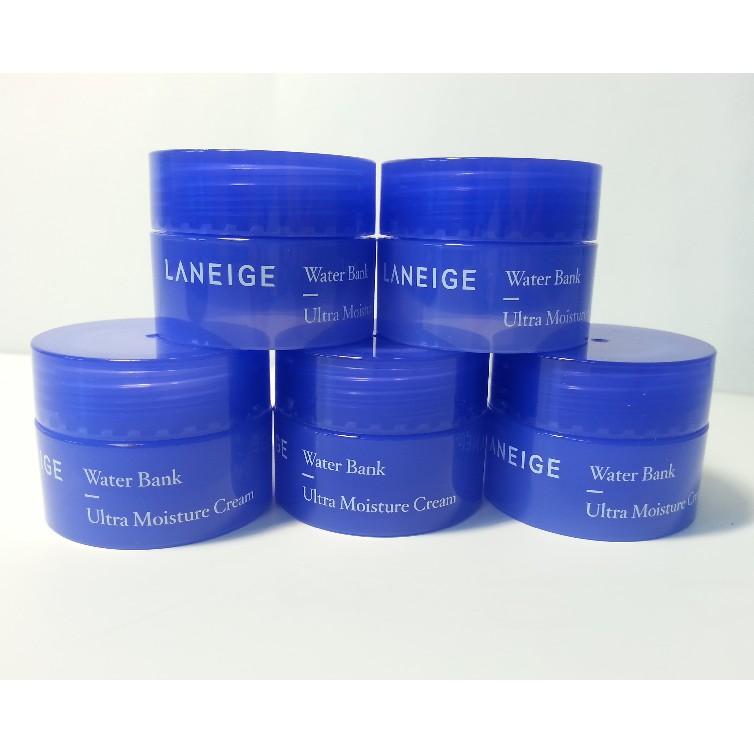 [ BÁN SỈ ]Kem Dưỡng Da Mặt Laneige Water Bank Ultra Moisture Cream 10ml