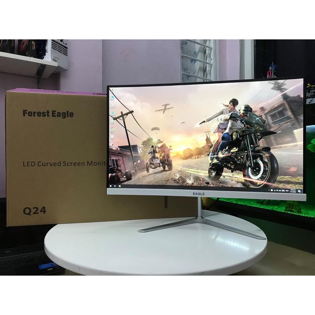 Màn hình Cong LCD 24inch Eagle Q24 IPS 75Hz ( bh 1 năm ) | Shopee Việt Nam