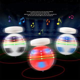 Football Shape Rotary Desktop Gyro Spinner Top Luminous Peg-top World Cup Toy