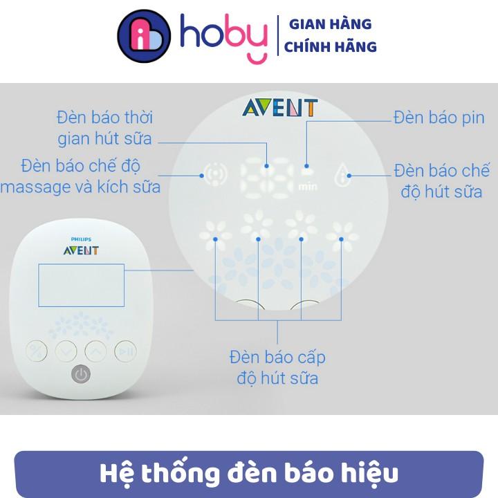 Máy hút sữa bằng điện đơn 𝗣𝗵𝗶𝗹𝗶𝗽𝘀 𝗔𝘃𝗲𝗻𝘁 chính hãng bảo hành 12 tháng - massage kích thích dòng sữa mẹ