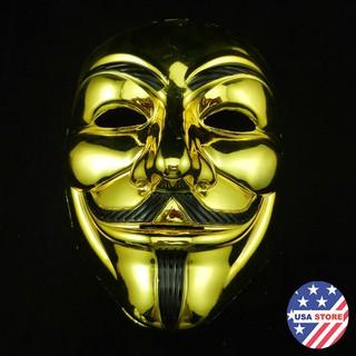 Mặt Nạ Mạ Bạc Vàng Hacker ( full box )