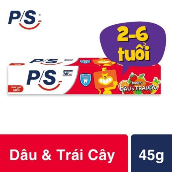 Kem Đánh Răng P/S Bé Ngoan Hương Dâu - Cam 35g - 45g