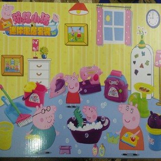 Đồ chơi Peppa Pig bồn tắm-vệ sinh nhà cửa No.RY-19 Clickbuy365