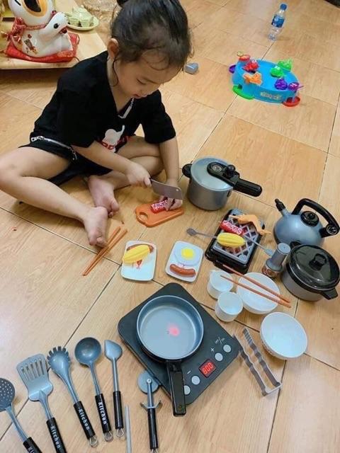 Bộ đồ chơi nấu ăn 36 chi tiết cho bé