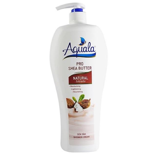 [HCM]??Sữa tắm Aquala Pro Shea Butter 1200ml