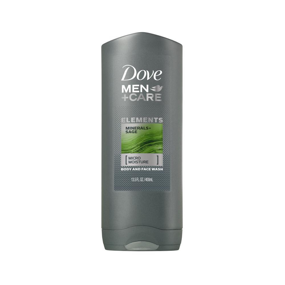 Sữa tắm & rửa mặt 2 trong 1 cho nam Dove Men + Care Elements Body Wash 400ml (Mỹ)