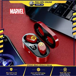 Tai nghe Bluetooth siêu anh hùng TM09 - Chính Hãng từ MARVEL - Âm thanh tuyệt đỉnh - Mic siêu nhạy