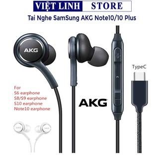 [Mã ELFLASH5 giảm 20K đơn 50K] Tai nghe Samsung AKG Note 10/S10 plus zin, Full box đi kèm - Việt Linh Store