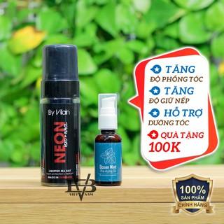 [CHÍNH HÃNG] Bọt tạo phồng By Vilain Neon H2O NACL 150ml + Tặng Pre Styling Oil Ocean Mint 30ml V2