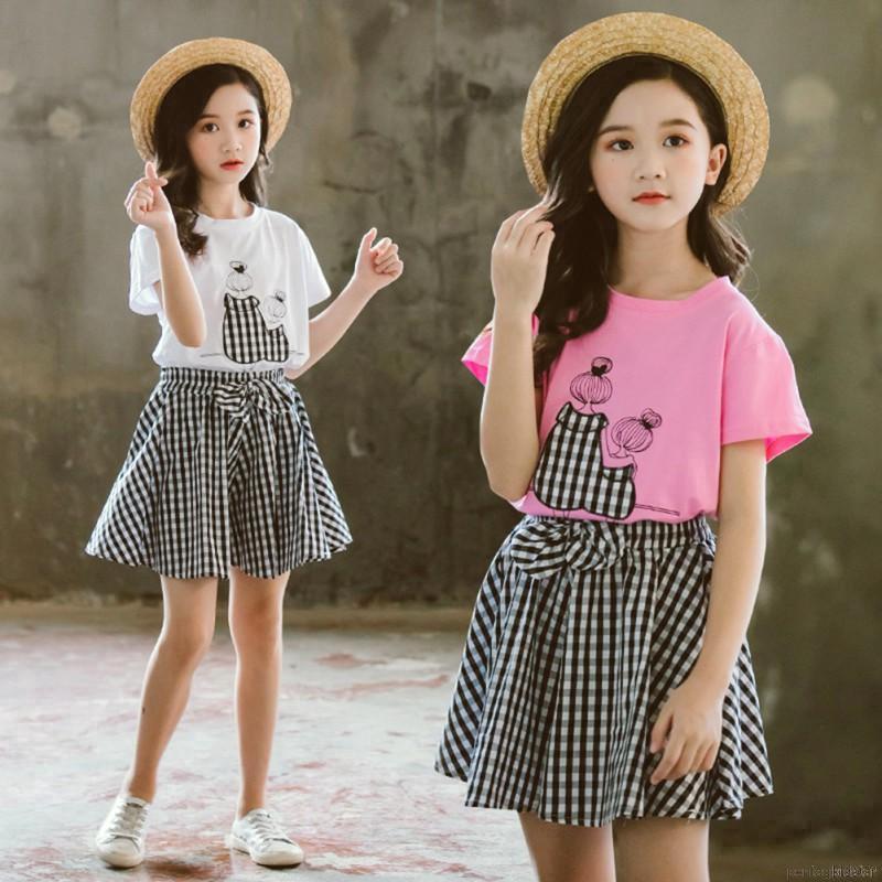 Set áo thun ngắn tay cổ tròn + quần dài in hoạt hình đáng yêu cho bé gái - 23075982 , 4701624459 , 322_4701624459 , 239351 , Set-ao-thun-ngan-tay-co-tron-quan-dai-in-hoat-hinh-dang-yeu-cho-be-gai-322_4701624459 , shopee.vn , Set áo thun ngắn tay cổ tròn + quần dài in hoạt hình đáng yêu cho bé gái