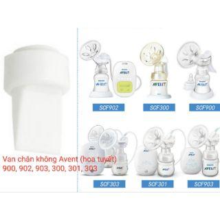 1-2 Van chân không Avent (Hoa Tuyết) phụ kiện máy hút sữa điện và tay - Mã máy 900, 902, 903,300, 301, 303