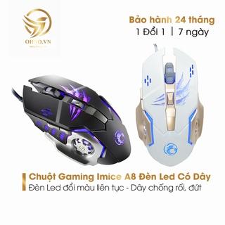 Chuột Gaming Game Thủ Có Dây Imice A8 Chuột Led Máy Tính Chơi Game Có Dây - Ohno Việt Nam thumbnail