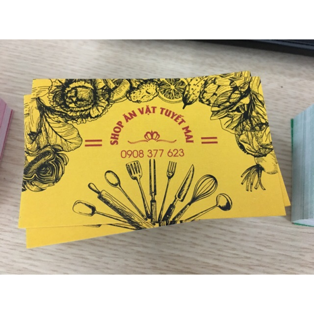 COMBO 100 CHIẾC CARD VISIT